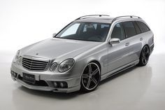Wald Mercedes Benz W211 Wagon Black Bison With Images Benz
