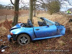 BMW M-Series Z3 M crashed in Hampshire