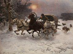 Le Prince Lointain: Alfred von Wierusz-Kowalski (1849-1915), Poursuivi...