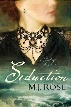 """Mysterious, haunting, and tragic, Seduction emerges as a suspenseful alchemy of potent ingredients, beautifully blended, that ignites your senses and leaves you aching for more."" —Jamie Ford, New York Times bestselling author of Hotel on the Corner of Bitter and Sweet   http://mjrose.com/books/seduction.asp?BookVar=Praise"