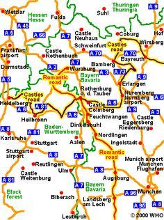 The Romantic Road, Germany
