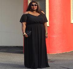 ASOS Curve Cold Shoulder Dress. Plus Size. Spring Lookbook.