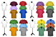Shortsleeve tshirt template 03