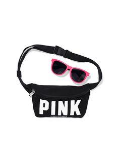 Fanny Pack & Sunglasses - PINK - Victoria's Secret - got these
