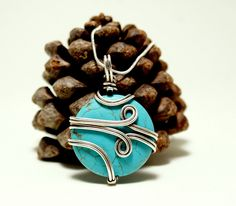 A personal favorite from my Etsy shop https://www.etsy.com/listing/471016586/turquoise-necklace-turquoise-pendant