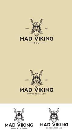 Logo design for MAD VIKING | 99designs