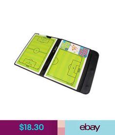 Training Aids Football Soccer Magnetic Coaching Tactics Board Folder + Pen + Clip Lanyard #ebay #Lifestyle