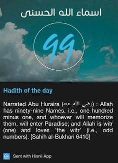 #99 Names of Allah