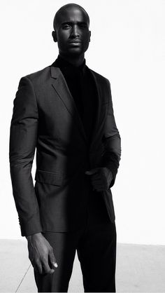 South African model Romeo Khoza