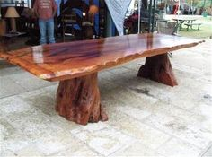 Mesquite Table Slab Table, Wood Table, Pine Table, Mesquite Wood, Rustic Table, Decorating A New Home, Home Decor, Wood Creations, Cedar Trees