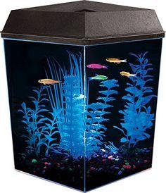 aaf7712d645a7d API Aquaview Corner Aquarium Kit with LED Lighting and In... https:/
