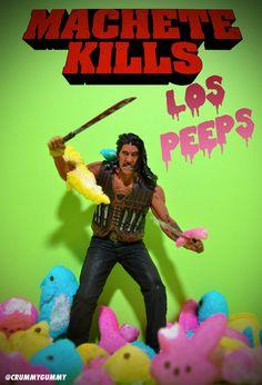 Machete Kills Los Peeps by Crummy Gummy