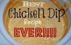 Best chicken dip EVE