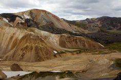"""Der Brennende Berg """"Brennisteinsalda"""" von Landmannalaugar / Island"""