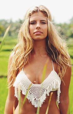 Anna Kosturova crochet bikini // nicdelmar