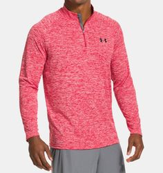 buy now Under Armour Tech Quarter Zip Long Sleeve Running Top The Under Armour Tech Quarter Zip Long Sleeve Running Top features UA's lightest material. With UA Tech fabric . Under Armour Herren, Under Armour Men, Athletic Outfits, Sport Outfits, Golf Attire, Red Media, Long Sleeve Shirts, Ua, Pullover