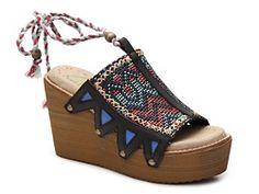 Coolway Cinnamon Wedge Sandal Black Wedge Sandals, Wedge Shoes, Boho Trends, Womens Clearance, Other Accessories, Cinnamon, Footwear, Wedges, Handbags