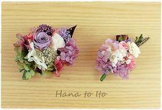 親子でお揃いで使っていただけるよう大小ペアのコサージュを作りました。入学式、卒業式、発表会など親子で使っていただくのはもちろんセット使いでドレスアップしていた...|ハンドメイド、手作り、手仕事品の通販・販売・購入ならCreema。 Polymer Clay Flowers, Polymer Clay Earrings, Wedding Hair Pins, Bridal Hair, Ivory Wedding, Handmade Polymer Clay, Flower Pendant, Handmade Flowers, Vintage Flowers