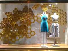 honeycomb theme at anthropologie