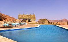 Self drive lodge trip in Africa. #namibia #sossusvlei #desertlodge #africantravels #pool #desert