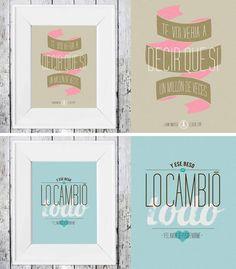 We love… las láminas o carteles con mensajes de amor | Tendencias de Bodas Magazine |
