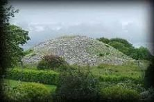 The Heapstown Cairn is in County Sligo, Ireland. It covers the Well of Slaine.