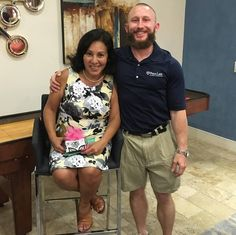 Happy Birthday to my dear friend Ana Marie Colchado! A kind caring joyful strong woman who has always encouraged my faith and treated me like a son.  by @foundationchiro. Thank you Dr. Pulver.