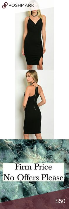 ●Coming Soon● Boutique | Little Black Dress This sophisticated yes classy little black dress is a perfect for any closet and any occasion. Is sleevless and has a bodycon fit.  Material content: 95% Polyester 5% Spandex Size scale: S-M-L Dresses Midi