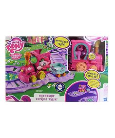 Look at this #zulilyfind! My Little Pony Magical Pony Express Train Set by My Little Pony #zulilyfinds