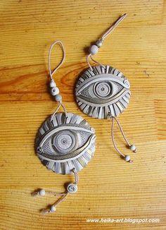 inspiration, think these are ceramic... АРТ-КОПИЛКА от HELKI: Мастерская керамики