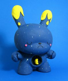"""Starry Slumber Custom 8"""" Dunny✖️No Pin Limits✖️More Pins Like This One At FOSTERGINGER @ Pinterest✖️"""