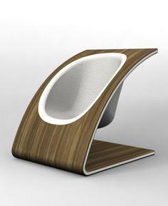 Vermlant - lounge chair by Peter Rosengren
