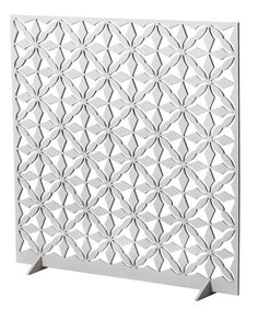 This is a window screen (fönstersmycke), 40x40 cm, but it does look like a good jewellery display, don't you think? For hanging earrings, but you could also fasten a necklace through the latticework or hang little hooks from the holes.