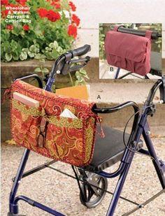Kwik Sew® Wheelchair & Walker Carryall pattern-Kwik Sew® Wheelchair & Walker Carryall pattern