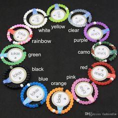 images of lokai bracelets   2016 Newest Red Lokai Bracelet Lokai Silicone Bead Bracelet lokai ...
