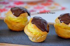 Profiterole à la crème parfumée à la fève tonka - La cuisine de Ponpon: rapide et facile!