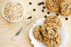Chewy Oatmeal Chocolate Chips