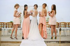 Panna Młoda z druhnami || Bride with bridesmaids