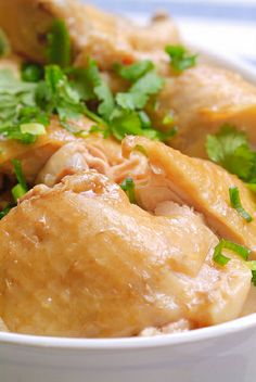 Steamed Chicken 'Chinese Chicken Rice' Style