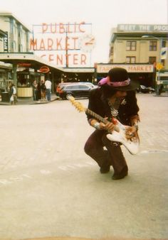 Jimi Hendrix ( photographer and location unknown ....h white 8-28-14
