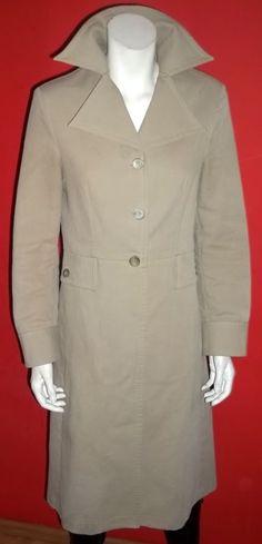Mng Ekskluzywny Elegancki Plaszcz Bez Wiosna 38 40 Coat Fashion Raincoat