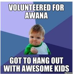 My Trek kids are awesome!!!! I am so glad that God brought me back into Awana after our church stopped doing it.