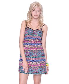 Mixed Print Dress | FOREVER21