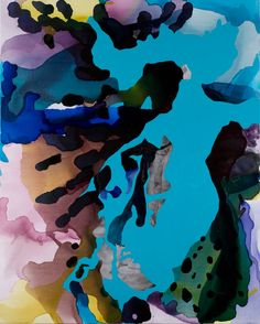Kaliman Gallery Sydney - Still Vast Reserves 2009, don't look back  2009, synthetic polymer paint & ink on linen, 153.0 x 122.0 cm