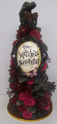 The Witch's Kitchen Cake Art
