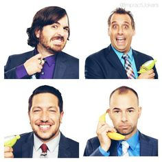 This is easily the funniest show on TV right now (in my opinion). Impractical Jokers ❤️