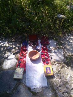 Crystal's Altar- Acropoli in Greece