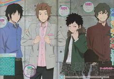 Daisuke Ashihara, Jin , Souya Kazama, Kei Tachikawa/ Toei Animation, World Trigger