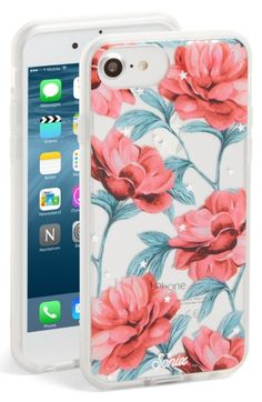 Free shipping and returns on Sonix Aurora iPhone 6/6s/7/8 Case at Nordstrom.com. Gilt stars interplay with voluminous blooms on this transparent hard-shell case that enhances your iPhone\'s style, while an impact-resistant bumper shields against scuffs and scratches. #shopping #loveit #love #cellphone #cellphonesaccessories #cellphonecase #iphone #iphone7plus #iphonecase #iphone6 #iphoneaccessories #trending #instyle #intrends #bestbuy #bestdeals #savings
