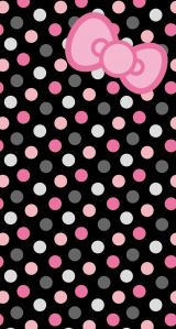 Pink Cheetah Hello Kitty Wallpaper